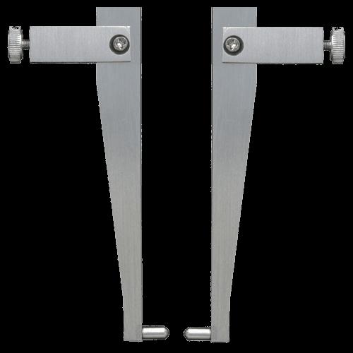 Messeinsätze für Universalmessschieber 6101/6100, Form 3