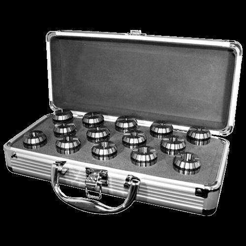 OZ Collet set DIN 6388 in case