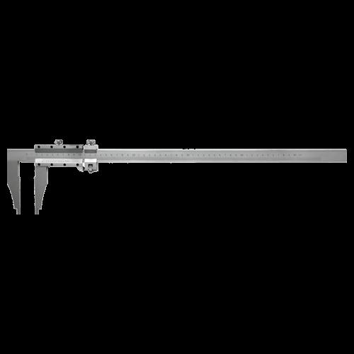 Werkstatt-Messschieber ohne Spitzen, mit Feineinstellung, Typ AZC 45