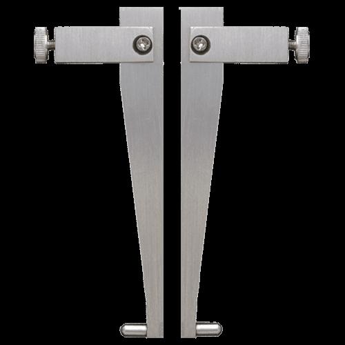 Messeinsätze für Universalmessschieber 6101/6100, Form 4