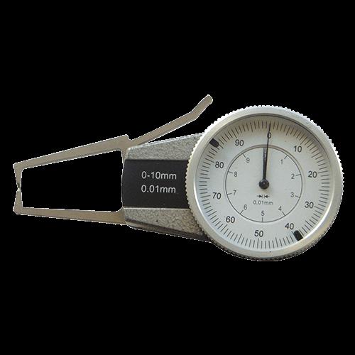 Außen-Schnellmesstaster mit Uhr, Typ 6031