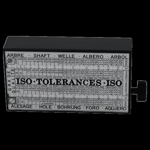 """ISO - Toleranzschlüssel """"TOLERATOR"""""""