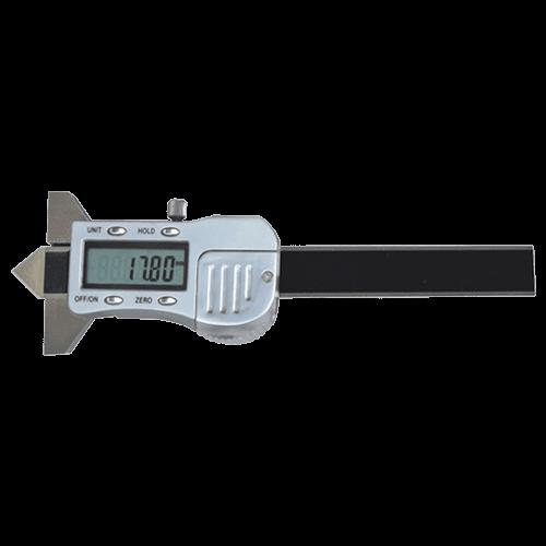 Digitaler Tiefenmessschieber für Bohrungs-Senkungen 90°, Typ 6041