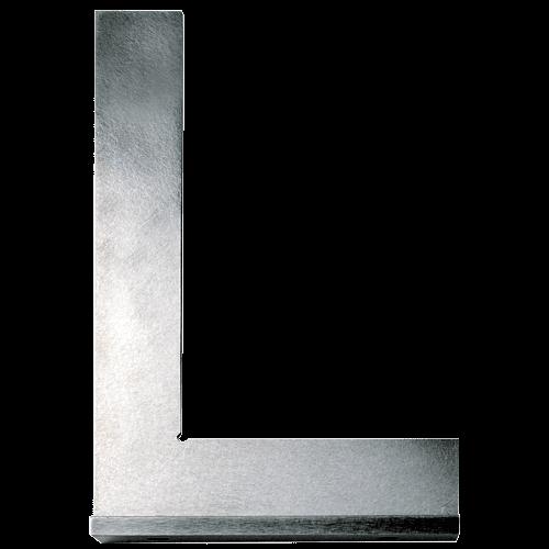 Präzisionswinkel Stahl mit Anschlag, DIN 875
