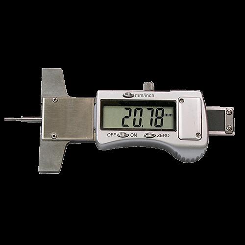 Klein-Tiefenmessschieber digital, mit runder Stiftspitze, DIN 862, Typ 6049