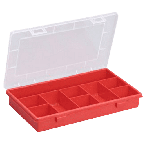 Open fronted storage bins, Allit assortment box, EuroPlus Basic 29 / 9