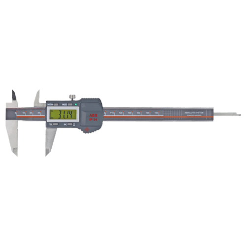 Precision pocket caliper digital, with tolerance LED, IP 54, Type 6251