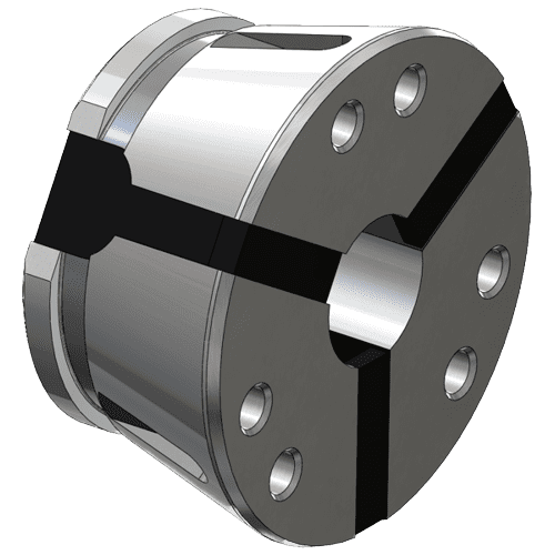 Clamping head SK 65 round, swivel out without stem
