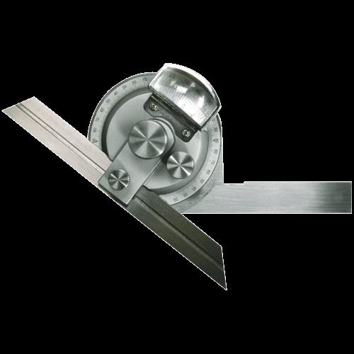 Winkelmesser mit Lupe und Feineinstellung