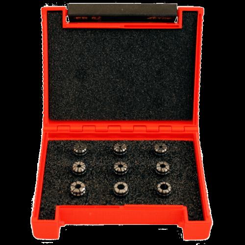 ER Collet set DIN 6499-B in case