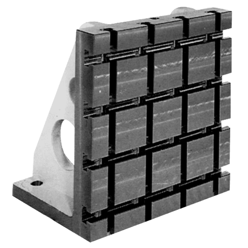 Angle bracket cast iron RS28 with T-slots
