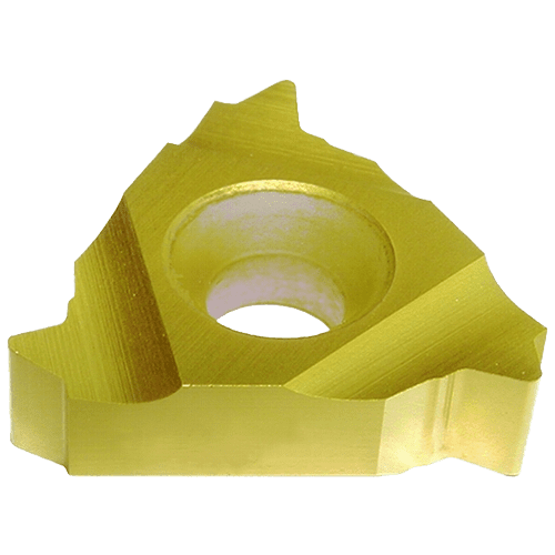Solid profile thread cutting insert ISO CP830, 60° external thread