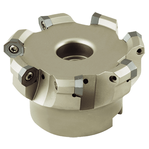 Face milling cutter 43°, for ODMT inserts