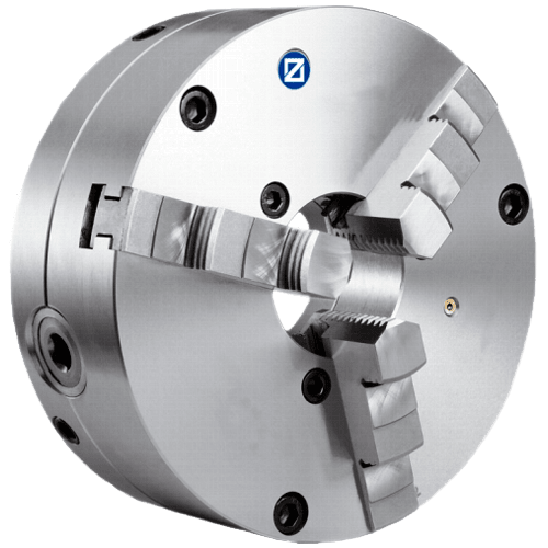 ZENTRA three-jaw chuck with radial fine adjustment