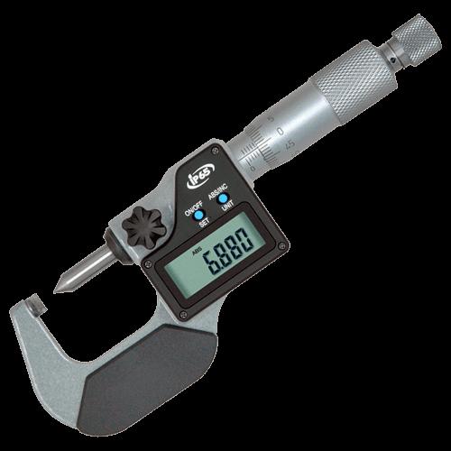 Digitale Bügelmessschraube für Crimphöhe, IP 65, Typ 677