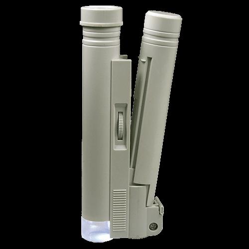 Präzisions-Stabmikroskop mit Beleuchtung