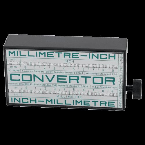 "ISO - ""CONVERTOR"" inch / mm"
