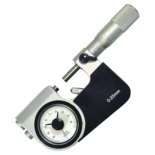 Micrometer with fine pointer Type 678