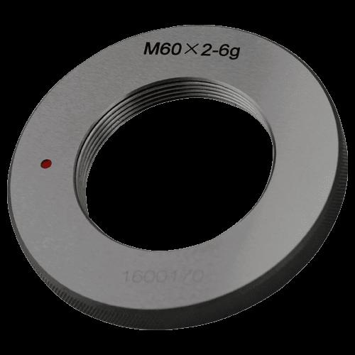 Ausschuss - Gewindelehrring DIN 13, ISO 6g, Feingewinde M60 - M120