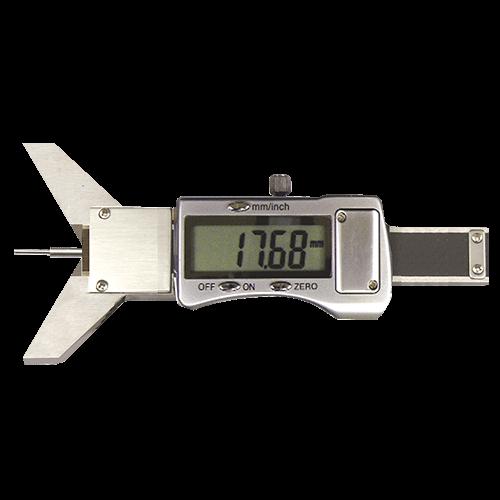 Klein-Tiefenmessschieber digital, mit Prisma-Messbrücke, Typ 6050