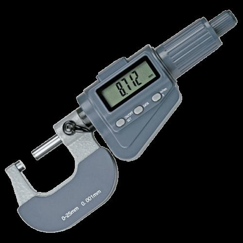 Digitale Bügelmessschraube mit Friktionsratsche, Typ 6034