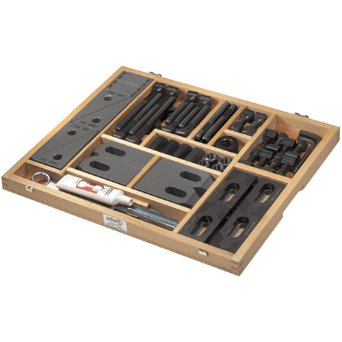 Clamping tool assortment AMF for T-slots No. 6530