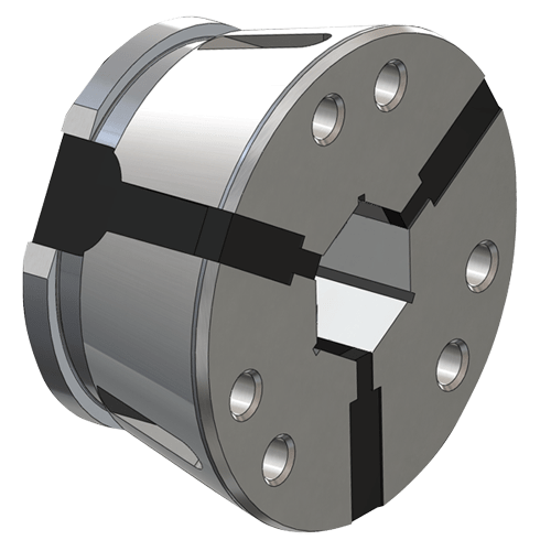 Clamping head SK 42 hexagonal, smooth without stem