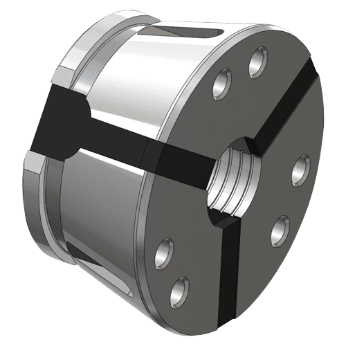 Expansion chuck SK 32 round, cross grooved without stem