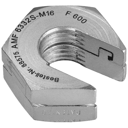 AMF Quick release nut without collar No. 6332S