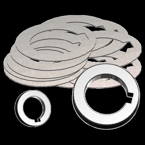 Spacing collar set DIN 2084 form A/B
