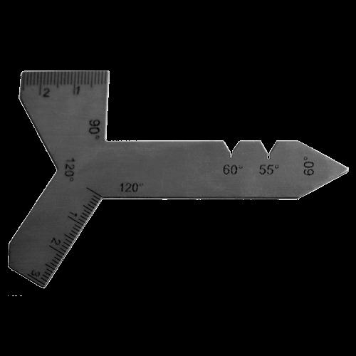 Universal Schleiflehre für Spiralbohrer bis 60 mm, Typ 8350