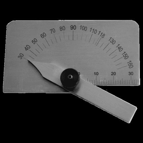 Schleiflehre für Spiralbohrer, aus Stahl, Typ 8380