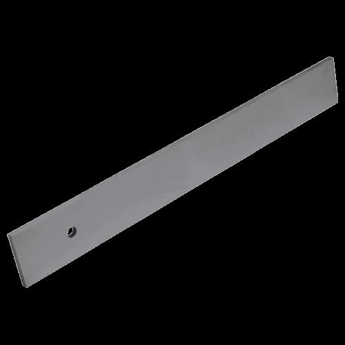 Werkstattlineal aus Spezialstahl, ohne Facette und Teilung, Typ 463/2