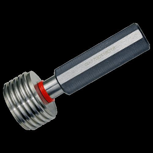 Ausschuss-Gewindegrenzlehrdorn DIN 13, ISO 6H, Feingewinde M60 - M120