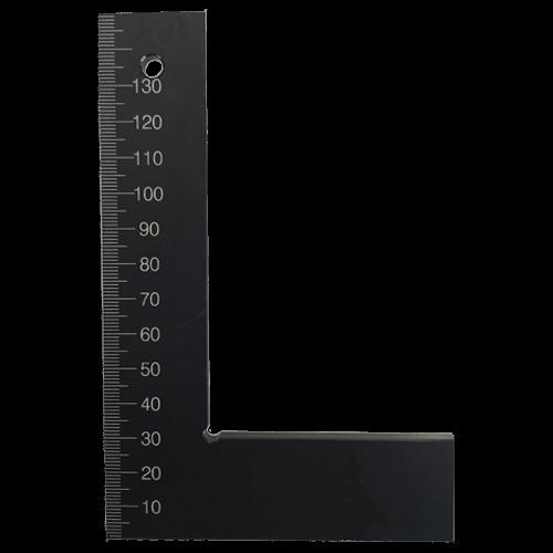 Flachwinkel DIN 875/1 aus gehärtetem Aluminium