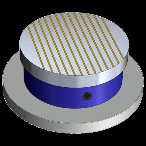 Runde Permanent-Magnetspannplatte Typ PMPRD18