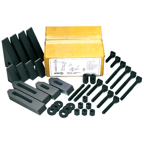 Basic clamping tool assortment AMF for T-slots No. 6532