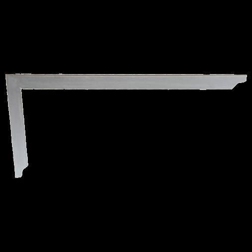 Carpenter's steel square 35mm wide, polished
