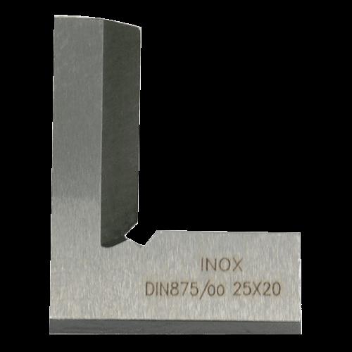 Inox Schnittmacherwinkel DIN 875/00