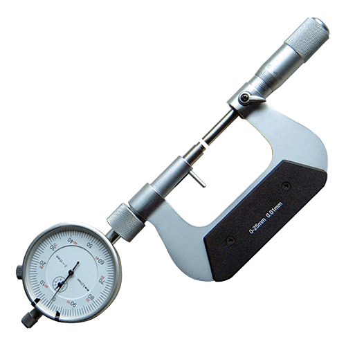 Outside micrometer with dial gauge type 679