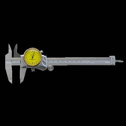 Precision caliper with hidden gear rod, DIN 862, type 495