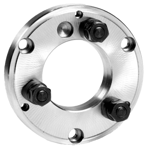 Lathe flanges DIN 55027, finished machined