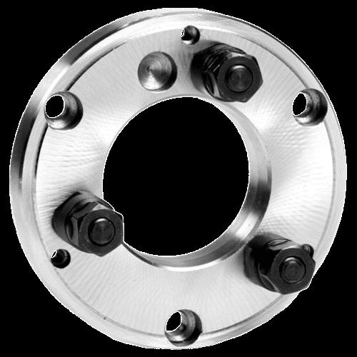 Drehmaschinen-Flansche DIN 55027, fertig bearbeitet