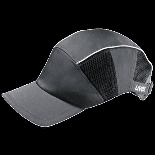 Arbeitsschutz Kappen, uvex Anstoßkappe 9794.300 mit langem Schirm