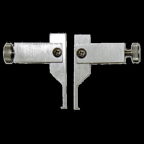Messeinsätze für Universalmessschieber 6101/6100, Form 1