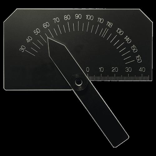 Schleiflehre für Spiralbohrer, aus gehärtetem Aluminium, Typ 8381