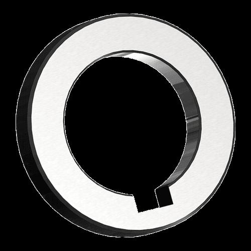 Spacing collars DIN 2084 form B