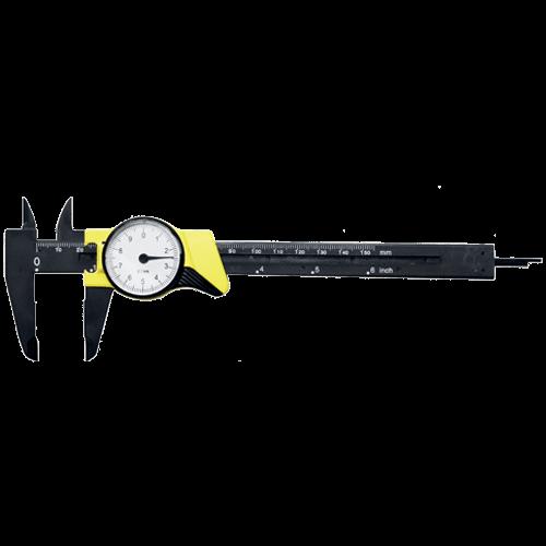 Uhrenmessschieber aus Fiberglas, Typ 614/4