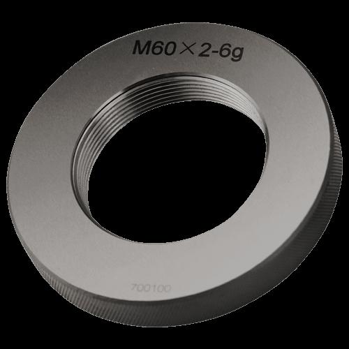 Gut - Gewindelehrring DIN 13, ISO 6g, Feingewinde M60 - M120