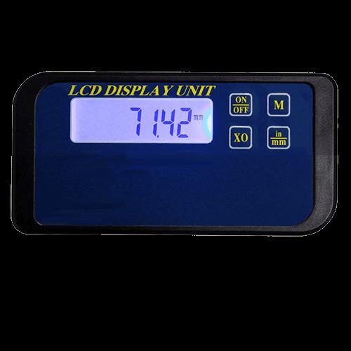 Digitalanzeige 710 für kapazitäves Messsystem Serie 715+716